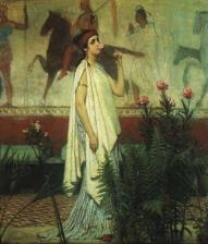 Alma Tadema - A greek woman