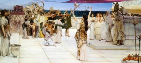 Alma Tadema - Dedication to Bacchus