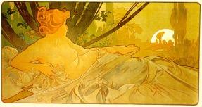 Alphonse Mucha - Dawn