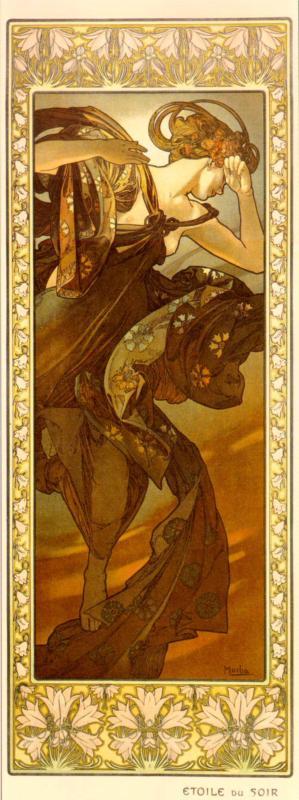 Alphonse Mucha - Evestar