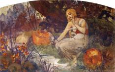 Alphonse Mucha - Prophetess