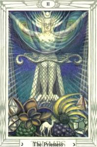 O Arcano II: signo de sabedoria