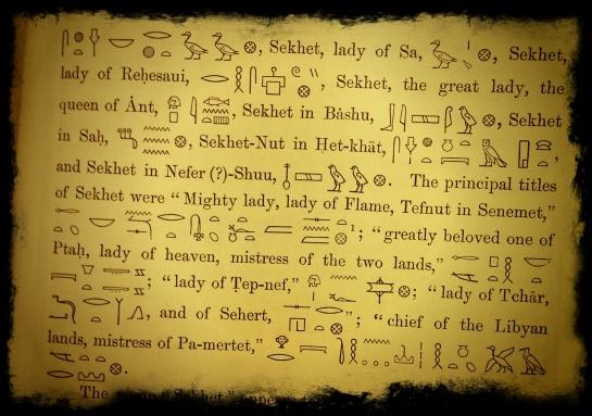 Sekhmet, uma Deusa de muitos nomes.