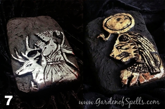 esculturas deuses