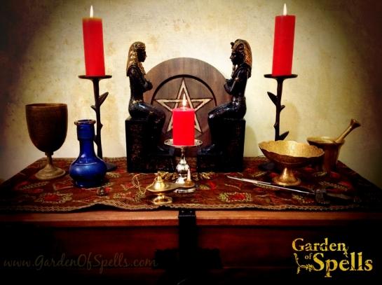 Altar de Beltane :: Garden of Spells