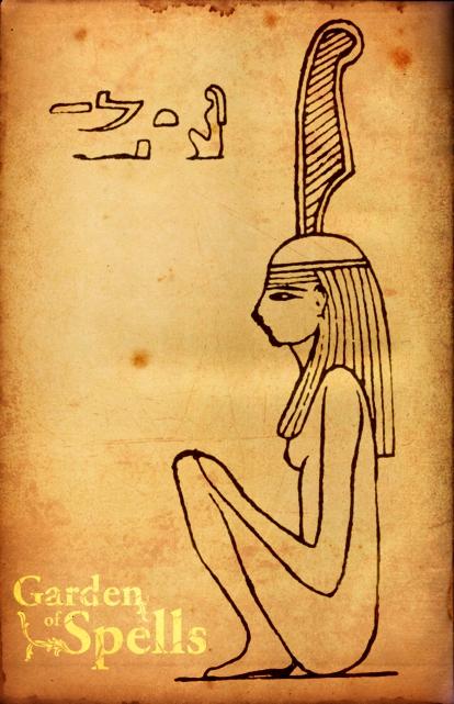 MAAT - Representação hieroglífica